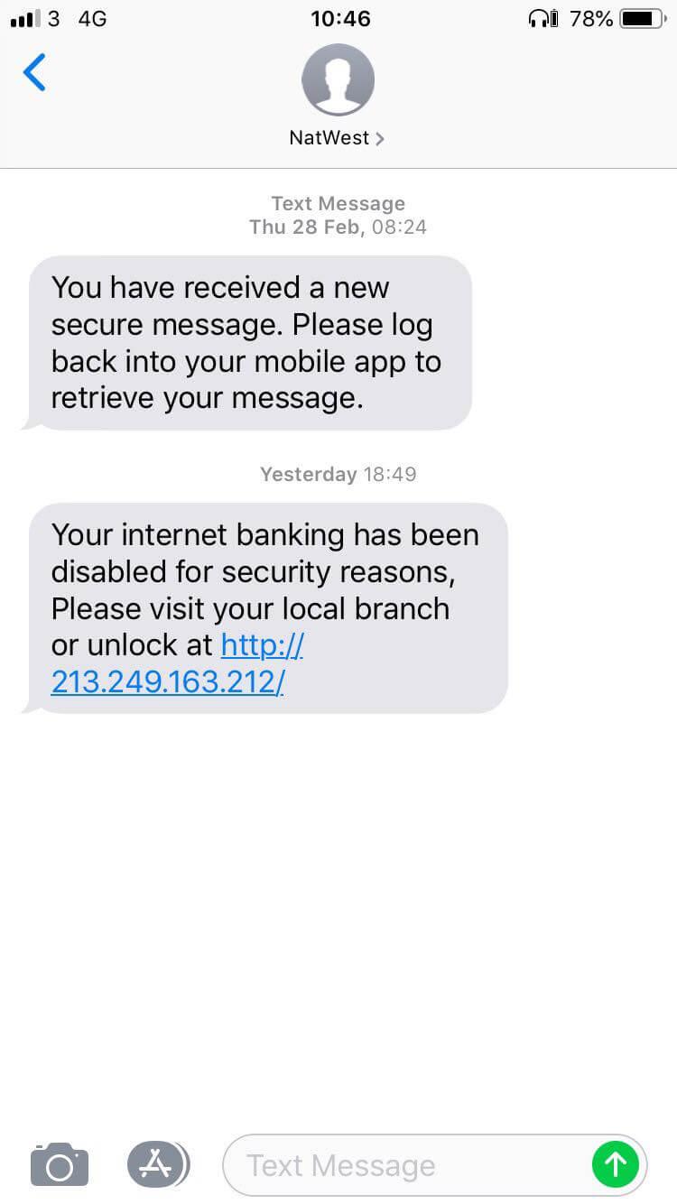 NatWest scam