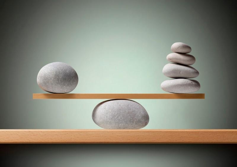 balancing rocks on board