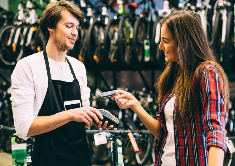 buying bike credit card