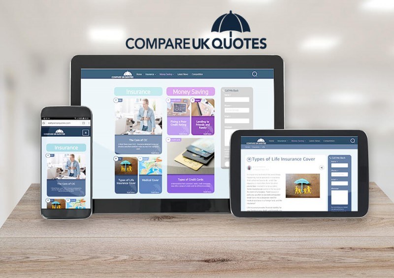 compareukquotes relauch website