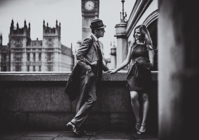 gentleman lady london