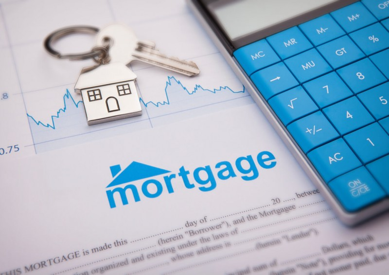 Interest on mortgage graph and calculator