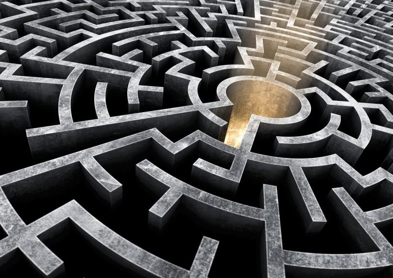 Maze representing the avoidance of inheritance tax