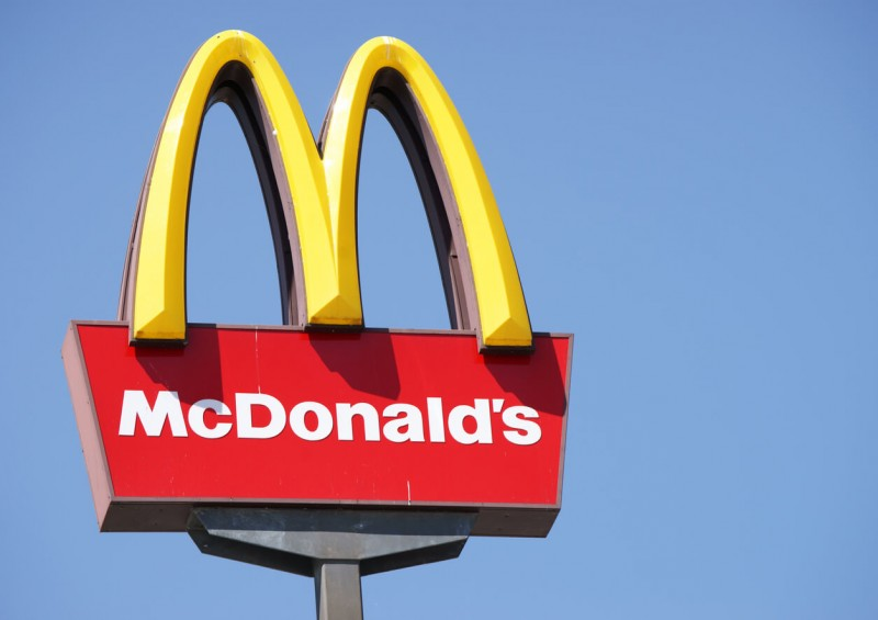 McDonald s sign as it is cheaper than life insurance