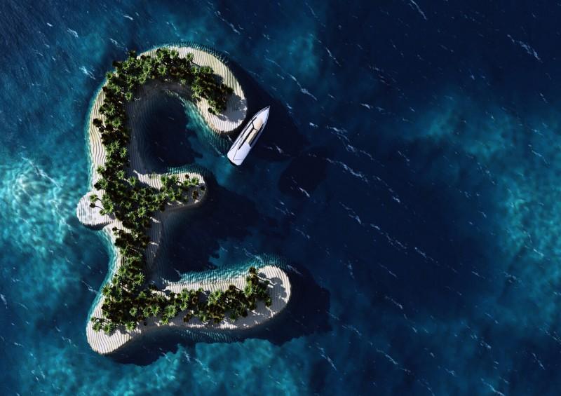 Pound sign island