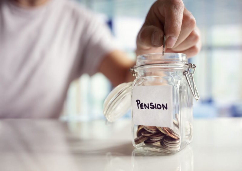 Putting money into a pension pot