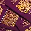 Numerous passports together